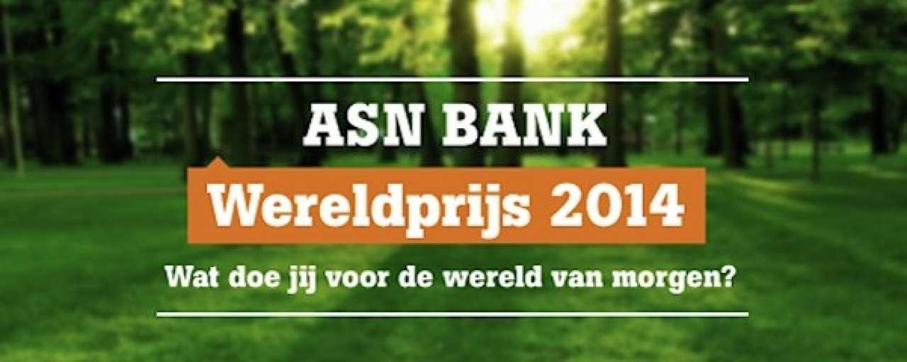 ASN Bank Wereldprijs: 40 projecten door