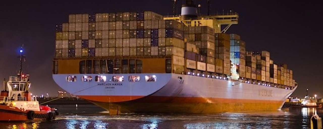 CO2-emissies zeescheepvaart opnieuw gedaald