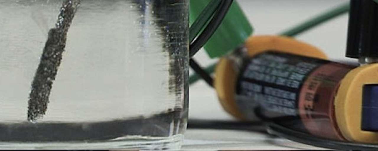 Stanford wint waterstof met batterijtje