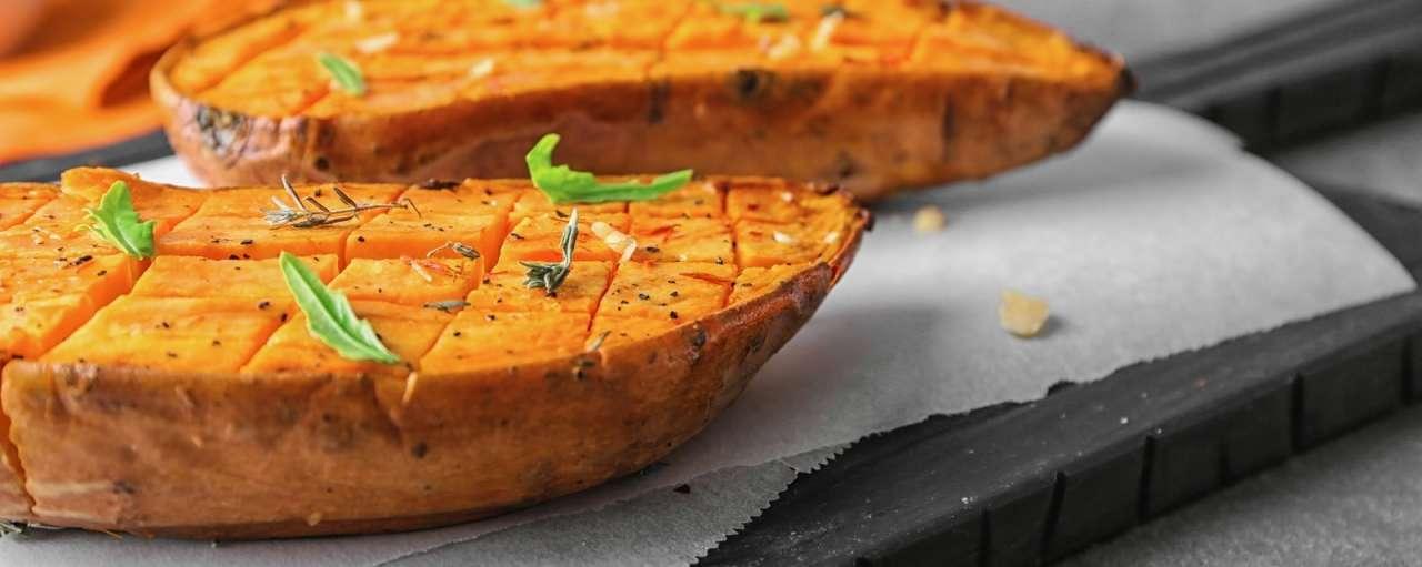 duurzame zoete aardappel