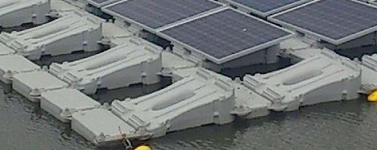Drijvende zonnecentrales voor Japan