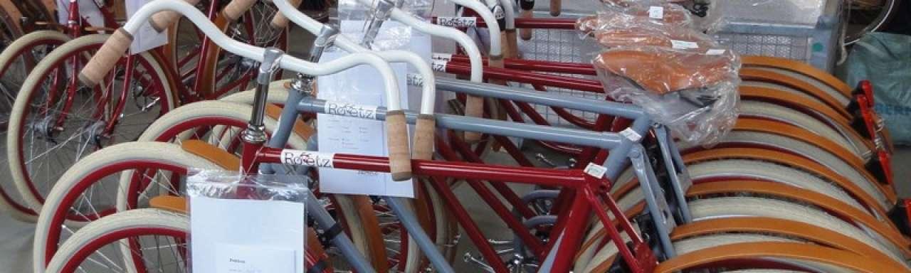 Roetz-Bikes: roetzen door de stad op duurzame fiets
