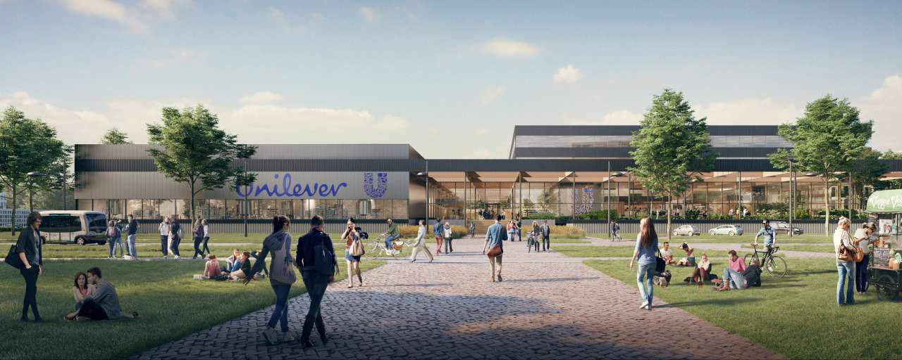 unilever, dura vermeer, paul de ruiter, architect, architectuur, voedingsinnovatiecentrum, Global Foods Innovation Center, duurzaam, voedselvraagstukken, honger, breeam