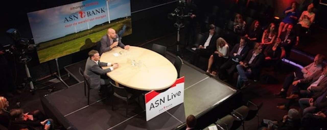 ASN Bank Live: duurzaamheid in vele vormen