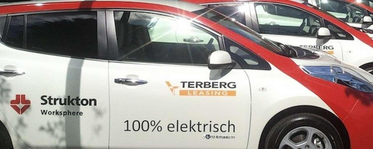Meer zakelijke hybride en elektrische auto's