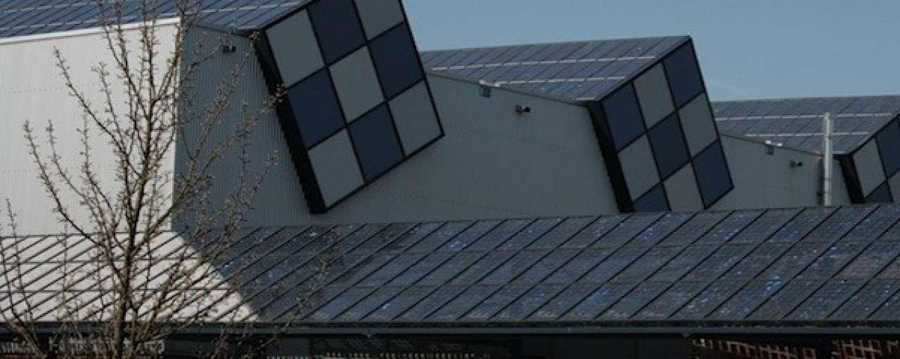 Opmars integratie zonnecellen in gebouwen
