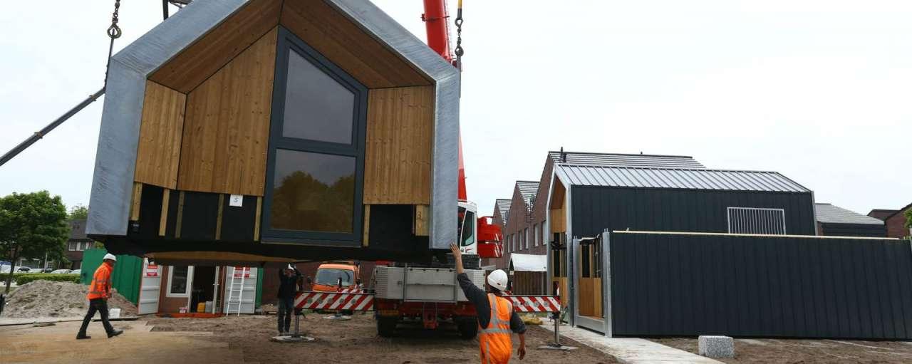 energie-efficiëntie, nijkerk, Heijmans ONE, Heijmans, tiny house, miniwoning, verplaatsbare, woningnood, tijdelijke, duurzaam nieuws