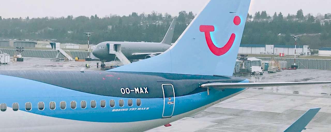 tui duurzaam vliegtuig