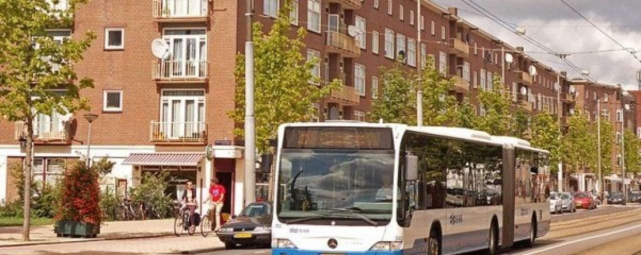 Elektrische bussen in Amsterdam