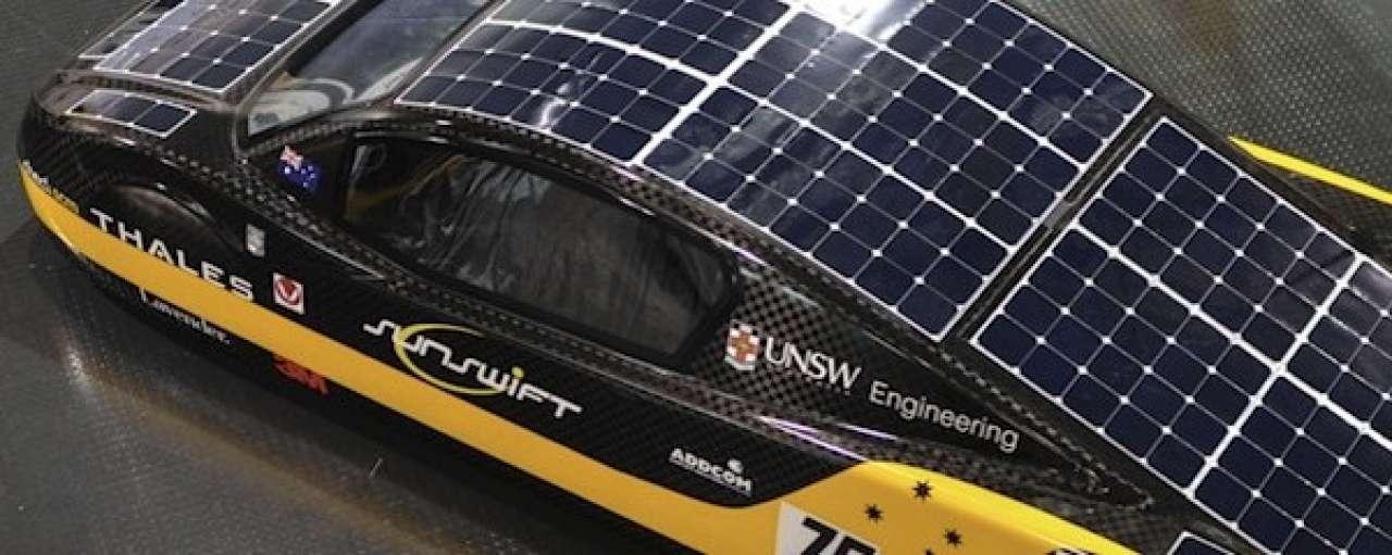 Snelheidsrecord zonne-auto verpulverd