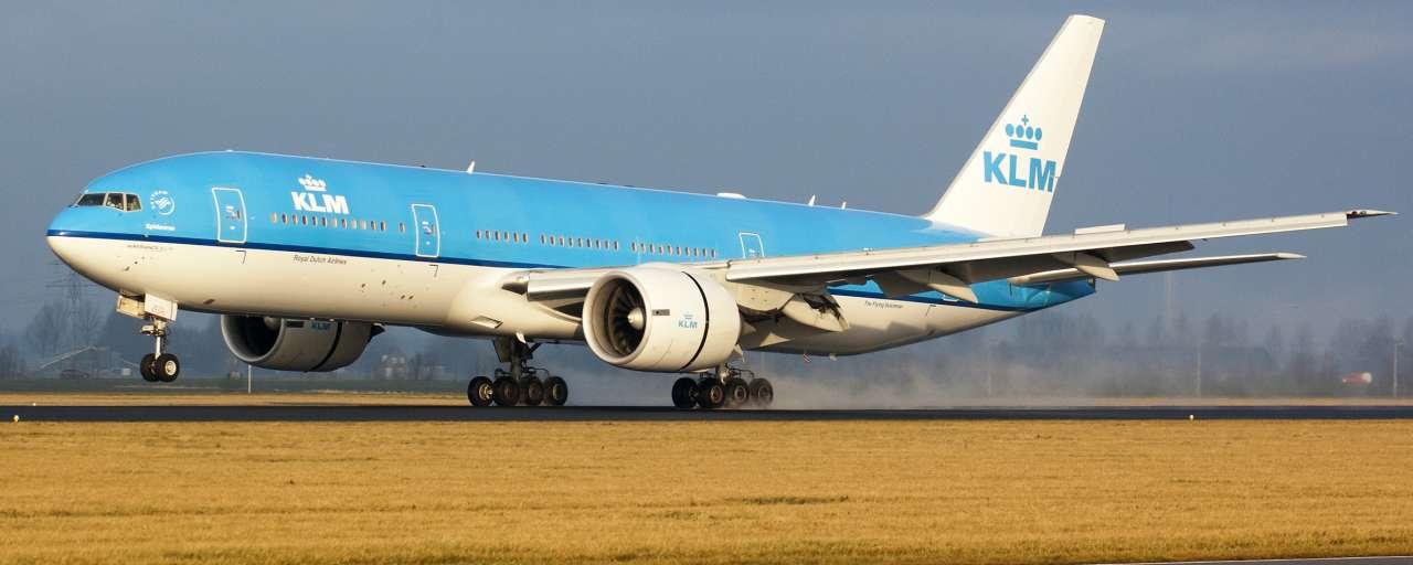 klm, vliegtuig, biobrandstoffen