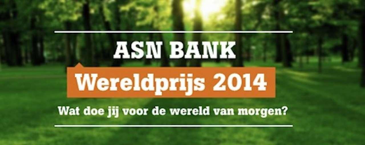 De acht finalisten voor de ASN Bank Wereldprijs