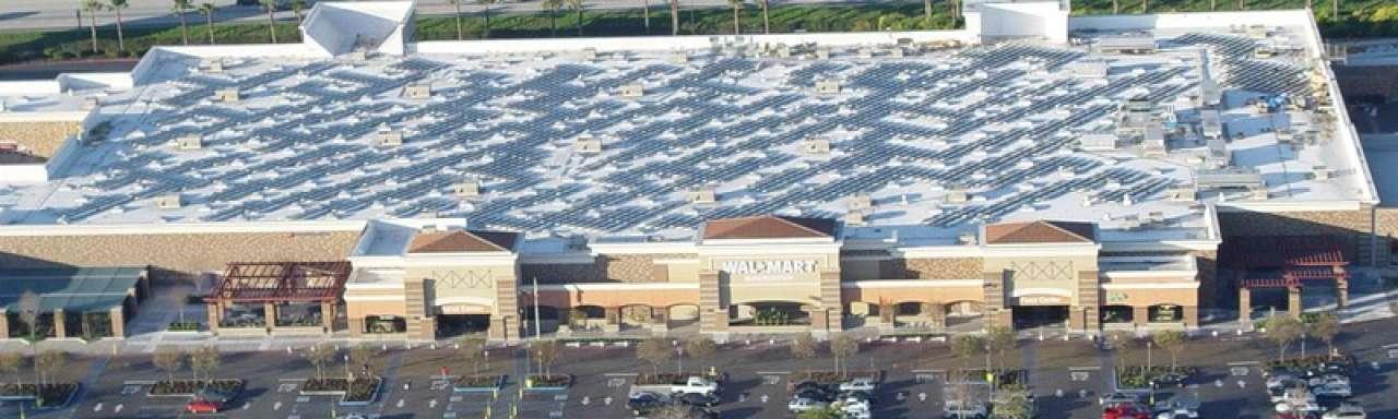 Walmart verslaat IKEA in hernieuwbare energie