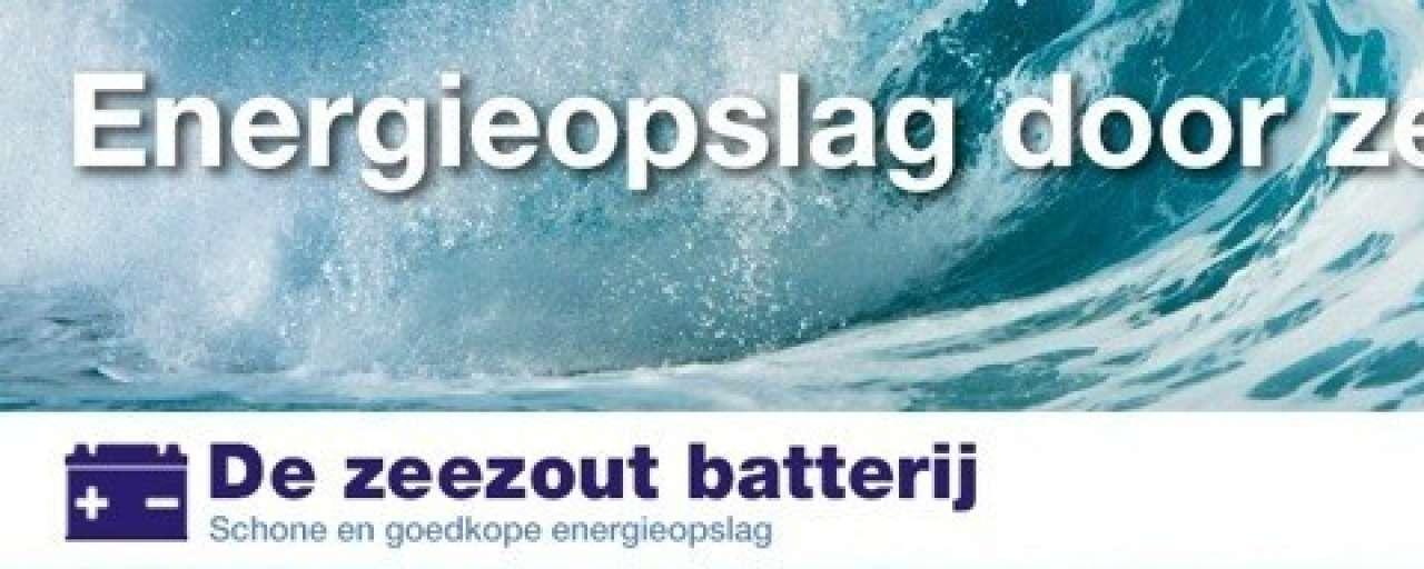 Zeezoutbatterij Dr. Ten in de race voor Groene Tulp