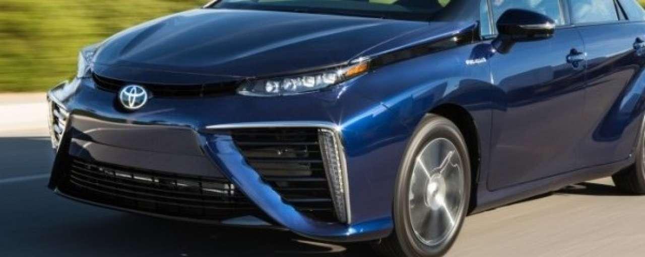 'Waterstofauto Toyota Mirai is de toekomst'