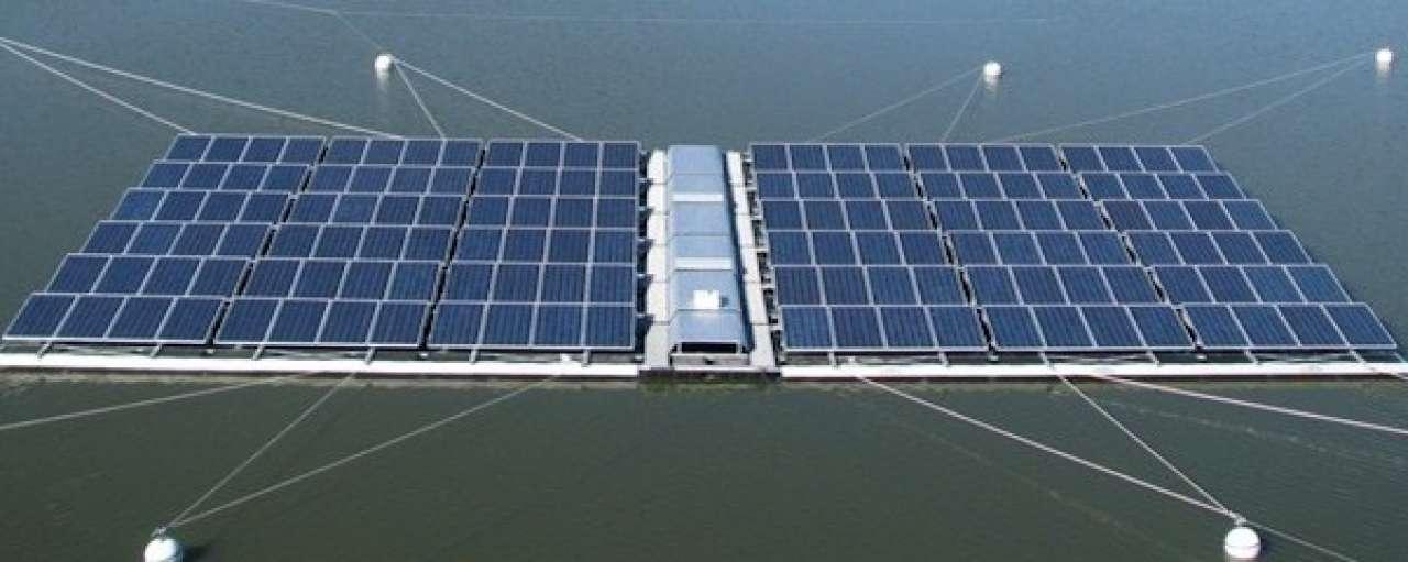 Grote drijvende zonneparken nog op tekentafel