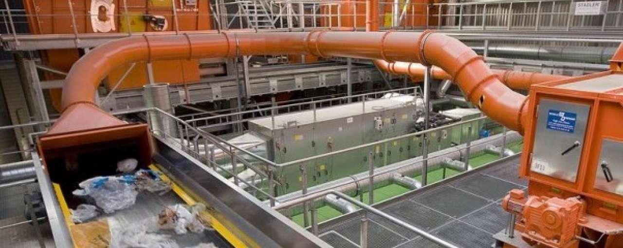Sita vult sorteerinstallatie met plasticafval