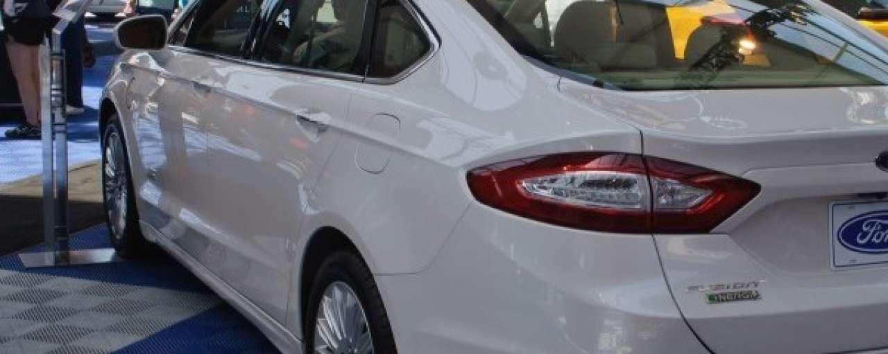 Hybride Ford Mondeo naar Europa