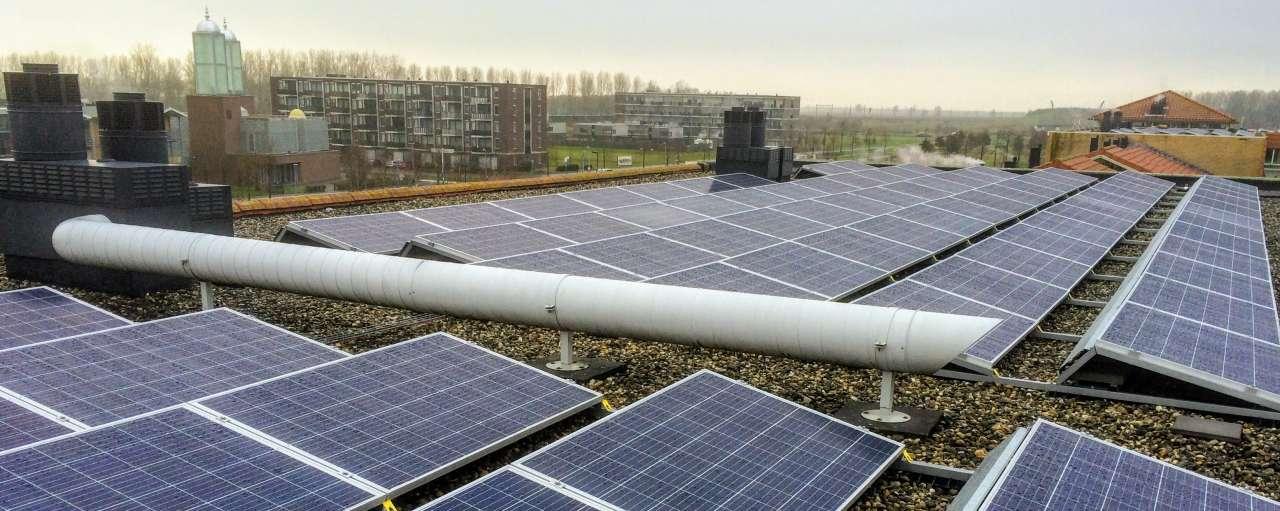 zonnepanelen, De Alliantie, verduurzaming