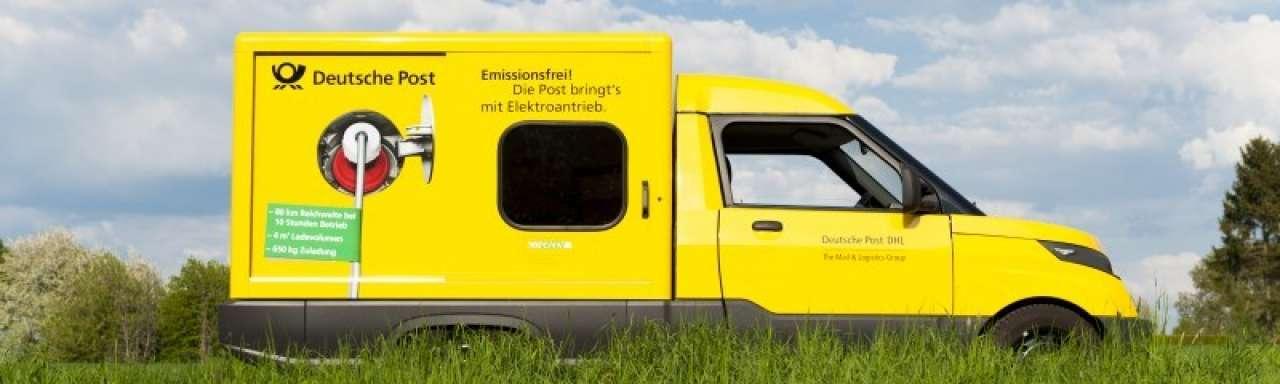DHL bouwt elektrische bestelbus in eigen huis
