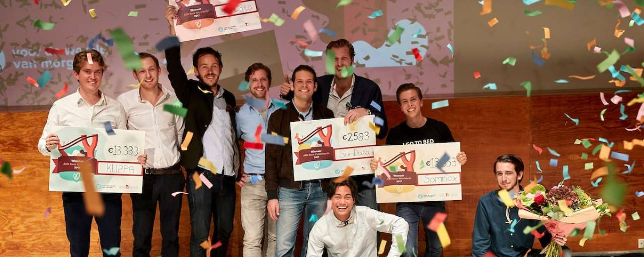 ASN Wereldprijs, FairPhone, Yoni, Sustainer Homes, seepje, Klippa, Pure Baby Foods, SunData, Blue Harvest Netherlands, Somnox, Refugee Team, slaaprobot, zonnepanelen, kassabon, energie, zonne-energie, prijs