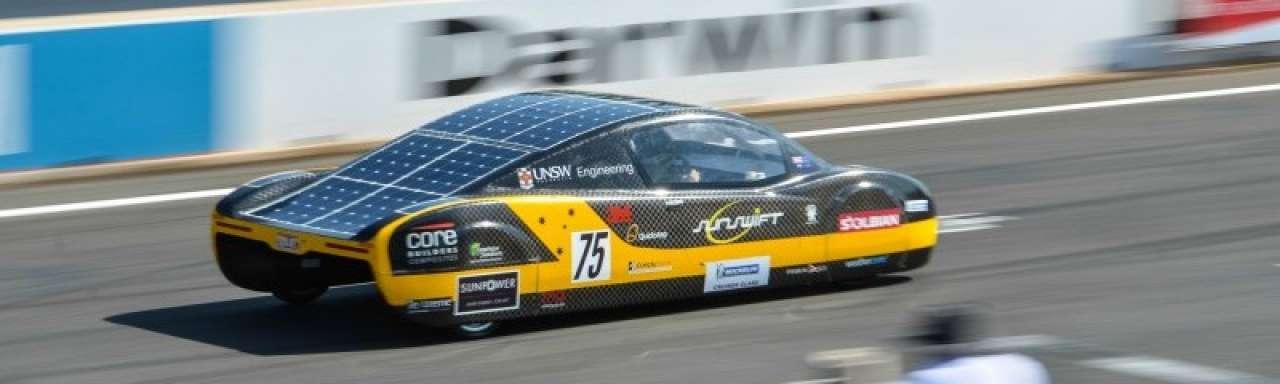 Sunswift wil recordauto in productie nemen