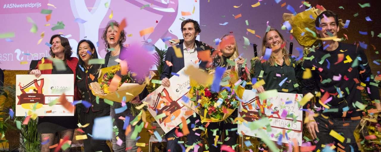 startups, start-ups, ASN Bank Wereldprijs