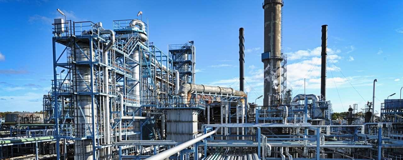 Olieraffinaderij, raffinaderij, industrie