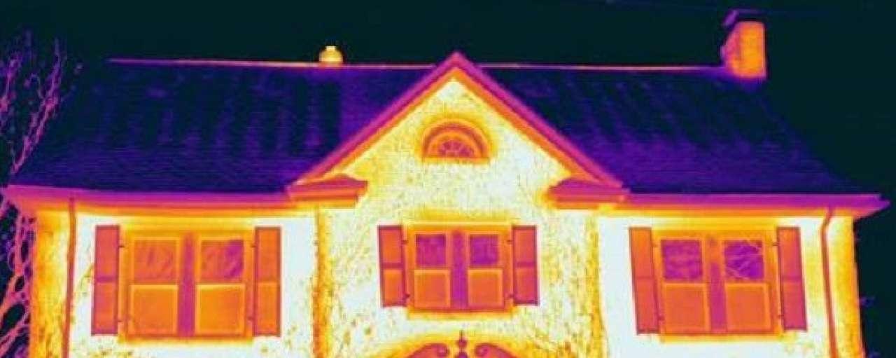 Rijdende warmtescans voor verbeteren isolatie
