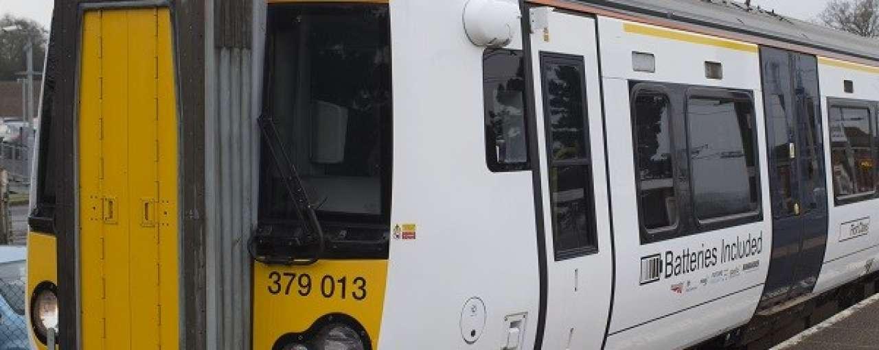 Britse spoorbeheerder test batterijtrein
