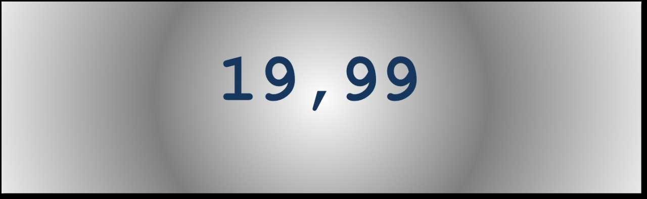 Getal van de dag: 19,99