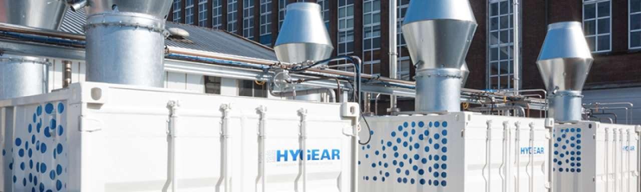 HyGear wint waterstof terug in glasproductie