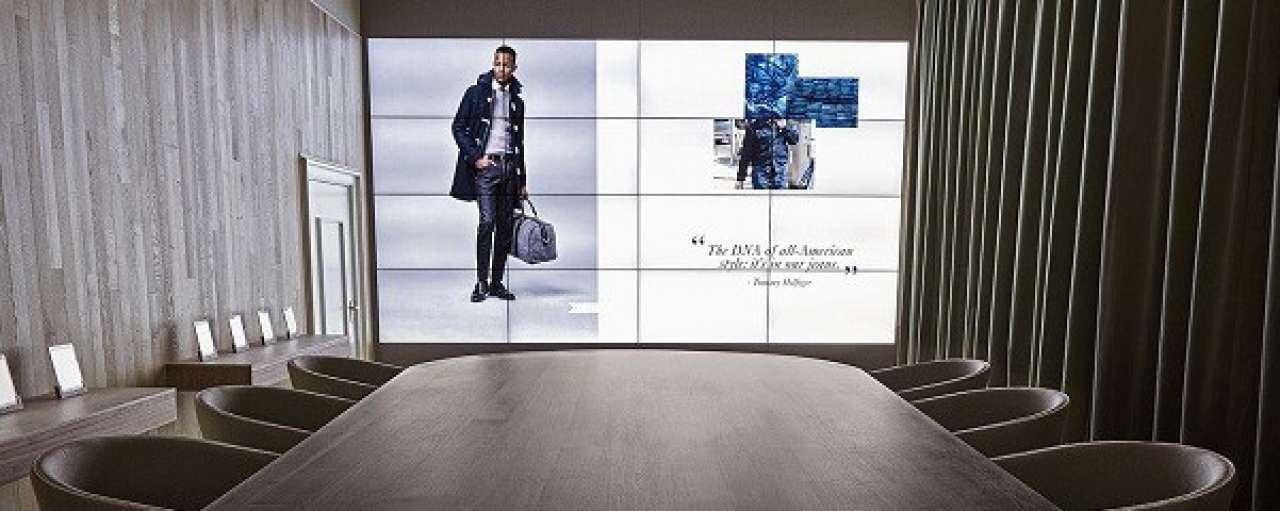 Hilfiger bespaart met digitale showroom