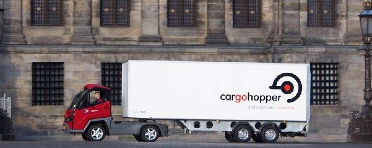 Cargohopper bespaart 7.000 liter diesel