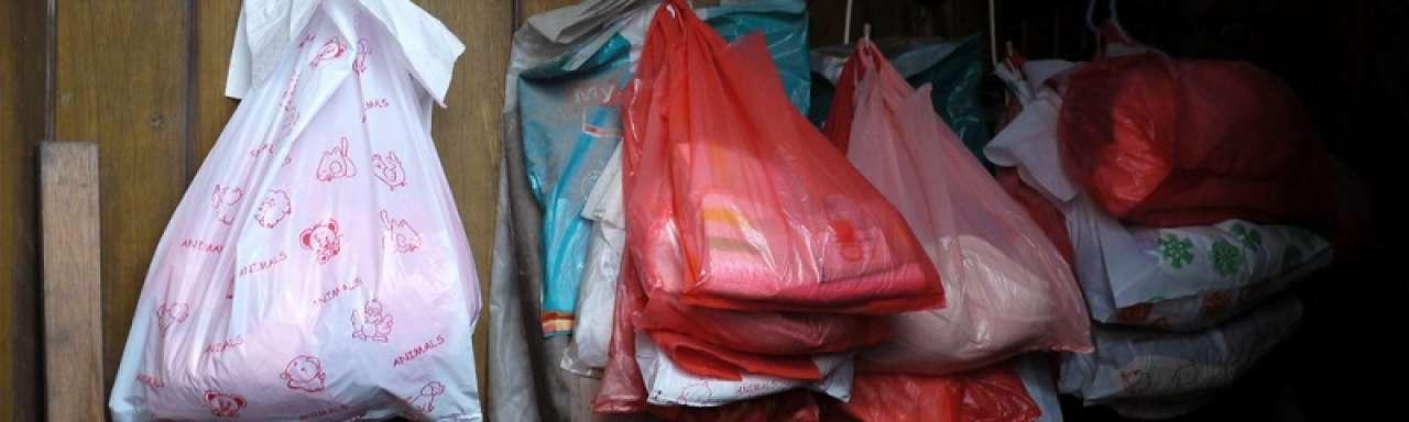 Plastic tasjes duurzamer dan katoen of papier