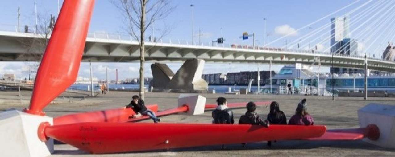Wat doen Rotterdammers met oude windmolenwieken?