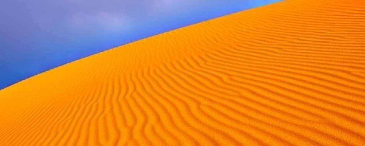 Landbouw en vliegtuigbrandstof in de woestijn