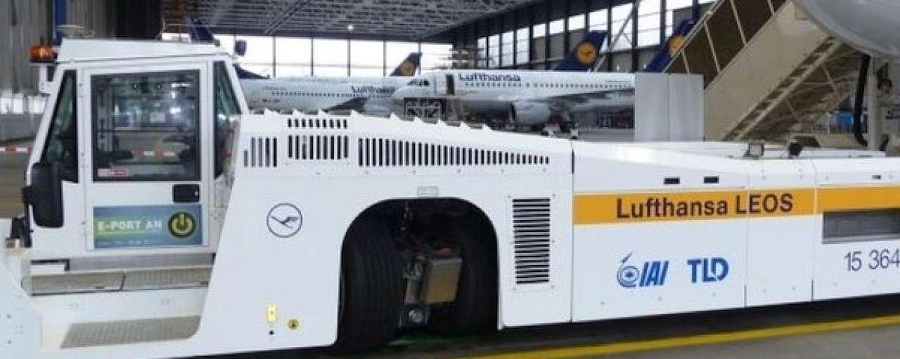 Taxibot bespaart Lufthansa 2.700 ton brandstof