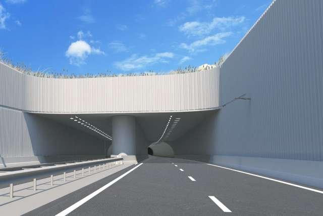 croonwolterdros, energieneutrale tunnel