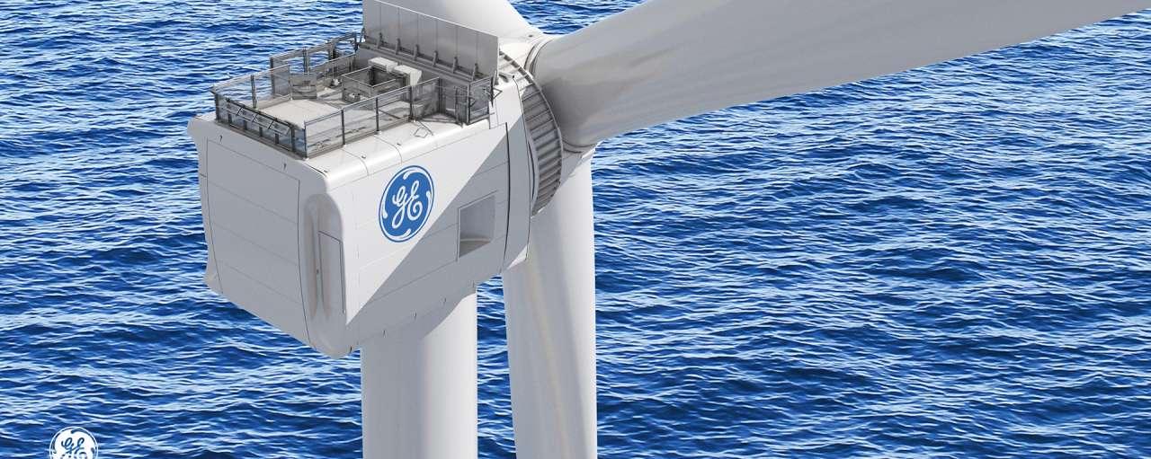 Haliade X 12MW windturbine. Foto: General Electric