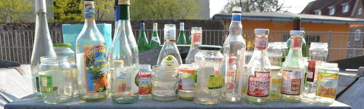 Recycling, glas