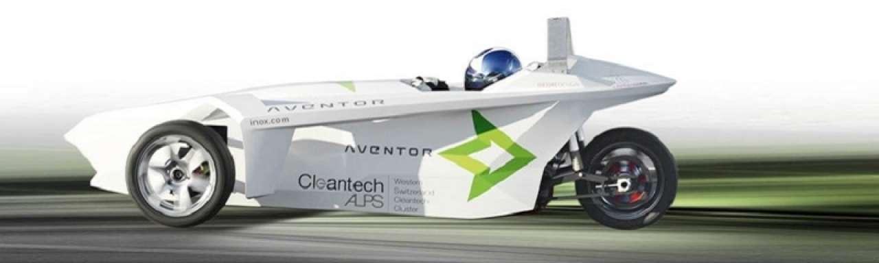 Elektrische raceauto