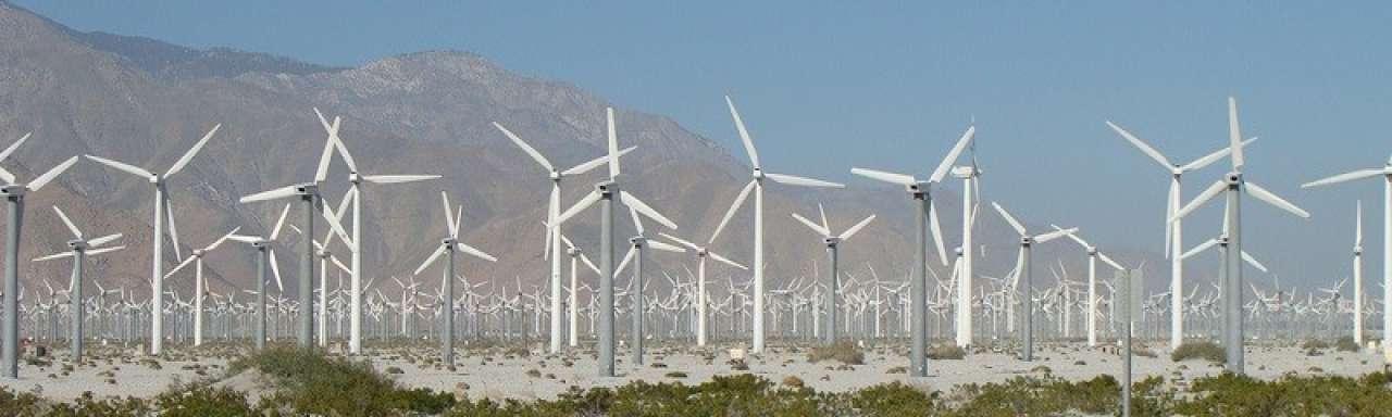 Windmolenpark, windmolens