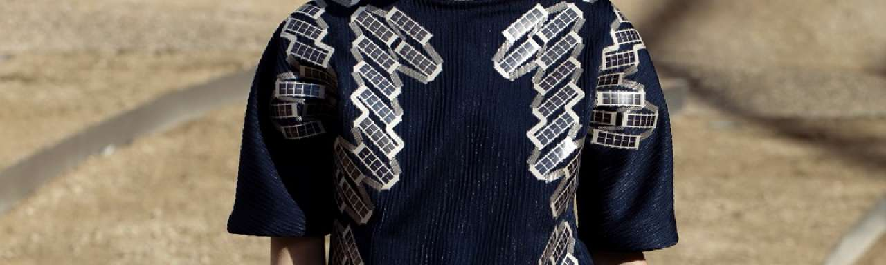 Solar shirt, zonnepanelen