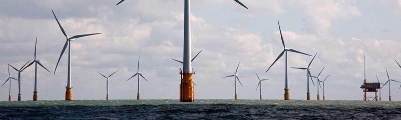 Schotland bouwt 's werelds grootste windpark