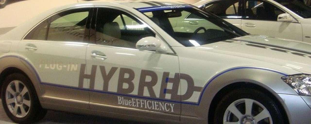 Hybride Mercedes