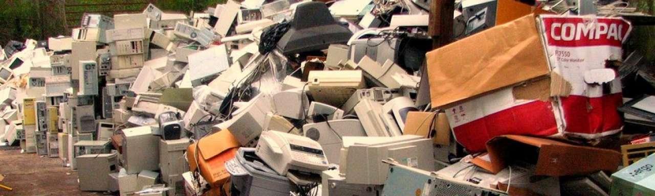 85% e-waste moet doorstromen naar nieuw leven