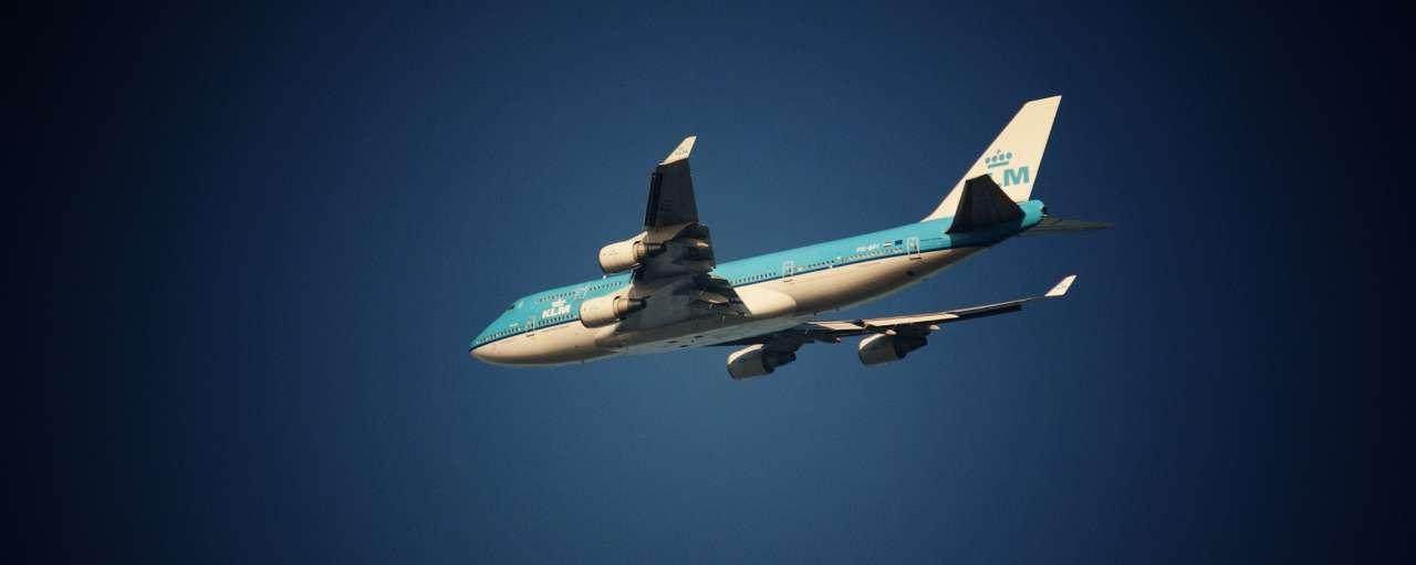 Vliegtuig KLM Schiphol