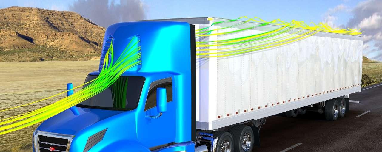 sabic spoiler vrachtwagen