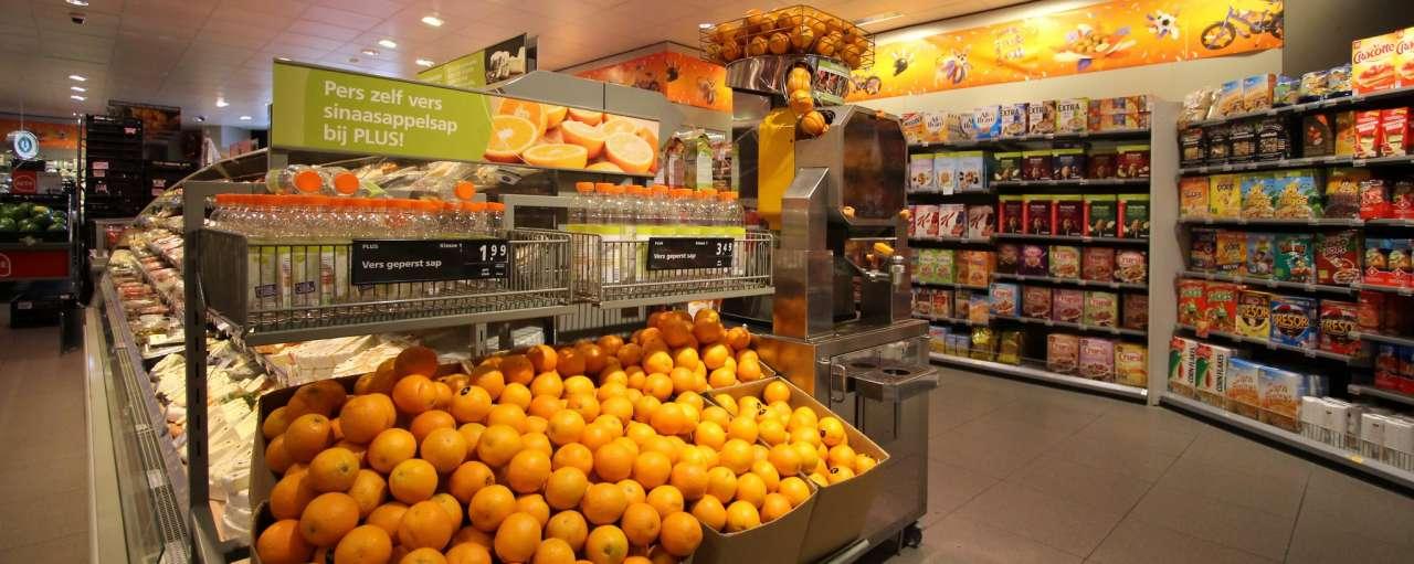 Supermarkt, Plus